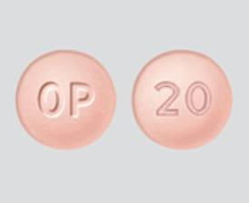 Oxycontin pill image
