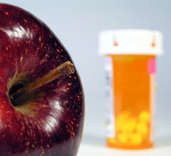 Apple and weight loss medication
