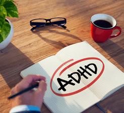 Adhd diagnosis concept