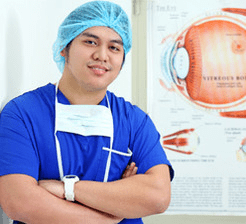 Eye care and ophthalmologist