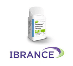 Ibrance bottle and logo