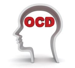 Ocd brain concept