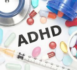 Adhd medications concept