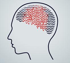 Seizure epilepsy concept