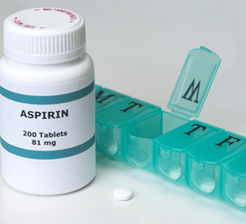 Aspirin daily regimen