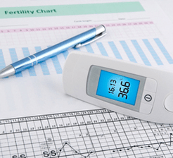 Fertility chart   temperature sensor