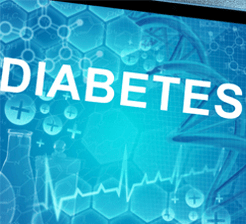 Diabetes research concept