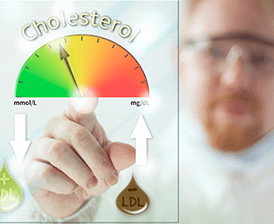 Good cholesterol vs. bad cholesterol