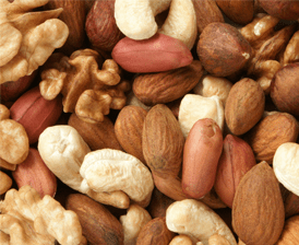 Nuts can help reduce inflammation