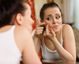 Teenage acne   aging