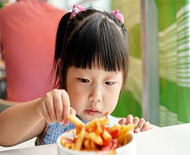 No healthy kids menus