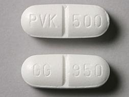 Penicillin V Potassium Pill Picture