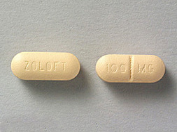 Zoloft Pill Picture