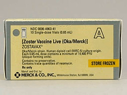 Zostavax Pill Picture