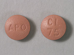 Clopidogrel Pill Picture