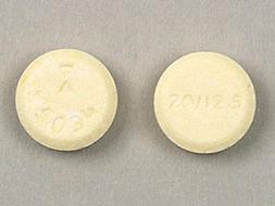 Lisinopril/Hydrochlorothiazide Pill Picture