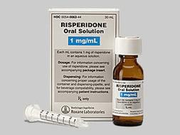Risperidone Pill Picture