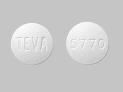 Olanzapine Pill Picture