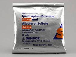 Ipratropium-Albuterol Pill Picture