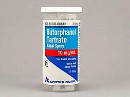 Butorphanol Tartrate Pill Picture