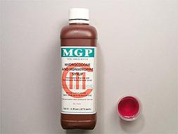 Hydrocodone/Homatropine Pill Picture